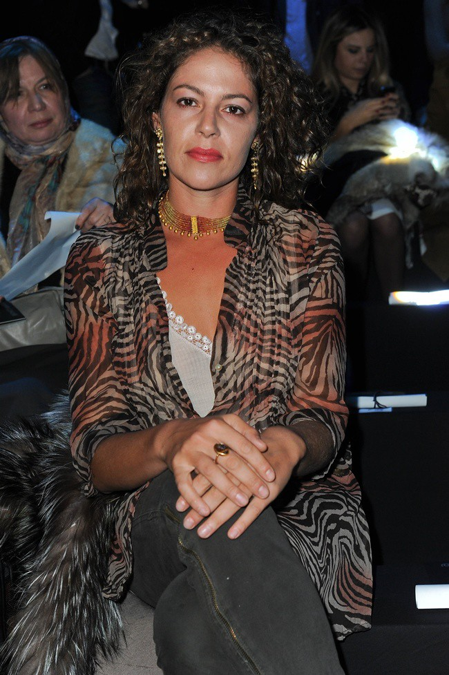 5 Lola Schnabel @ Roberto Cavalli Menswear AW1213 fashion show 14-01-2011 Milan 2