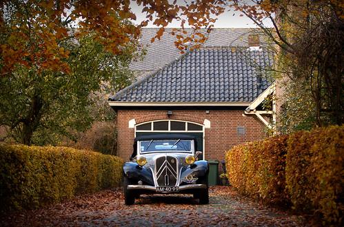 1935 Citroën 11A Cabriolet by Martin van Duijn