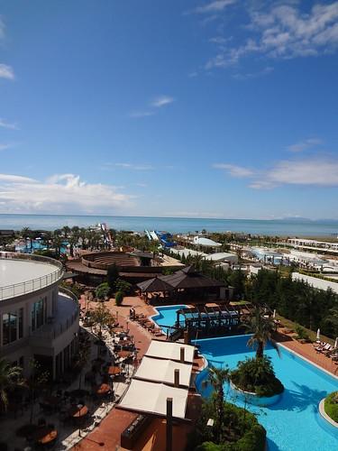 sea vacation sky sun holiday beach pool clouds turkey hotel balcony scenic lara veiw larabeach turkey2012