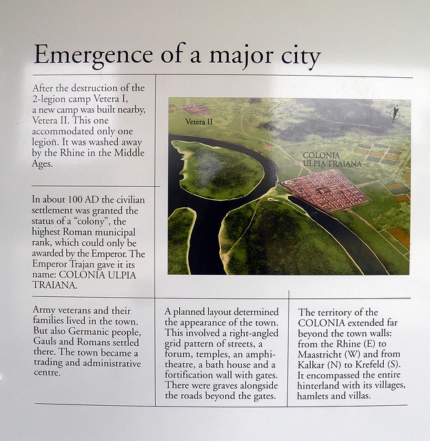 Emergence of a major city, Xanten, Germany