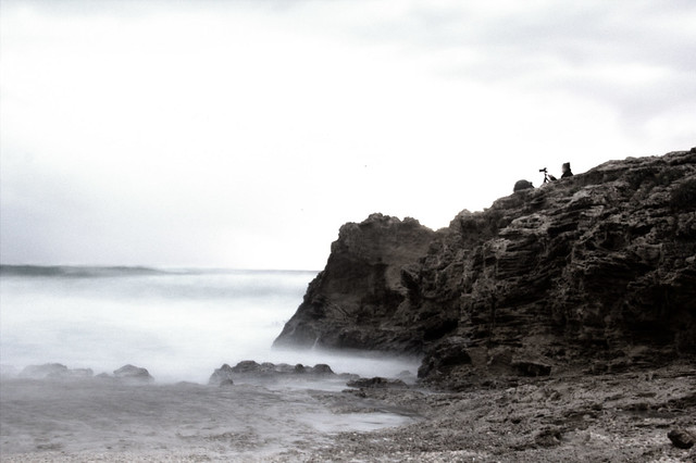 rocks ocean