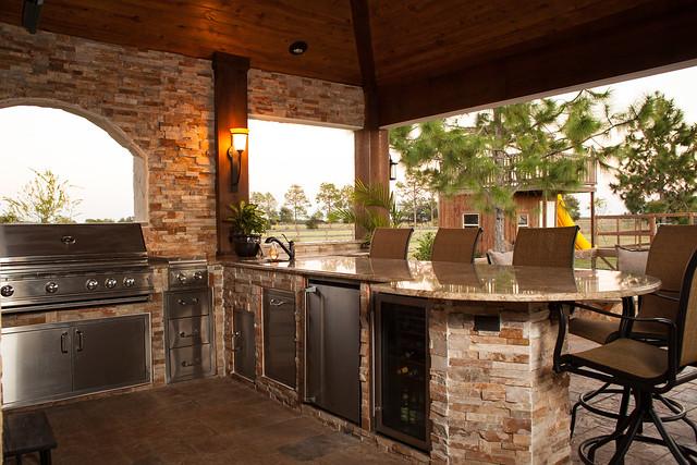 outdoor kitchens houston katy cinco ranch texas custom