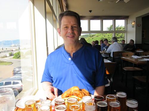 Beach Chalet, Silky, beer, sampler IMG_1854