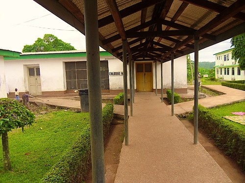 The Children's Ward at St Michael's Hospital, Pramso, Ghana