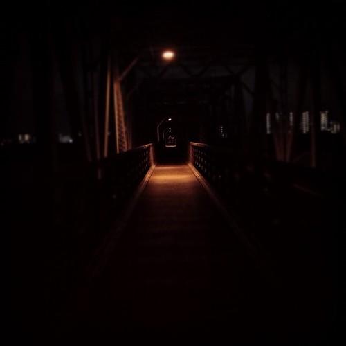 いつもの鉄橋 #1day1up