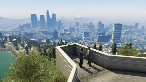 GTA V trailer 2 . rockstar reveals a brand new trailer for grand theft auto v with music from stevie wonder skeletons