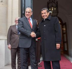 Official visit of Ollanta Humala, President of Peru