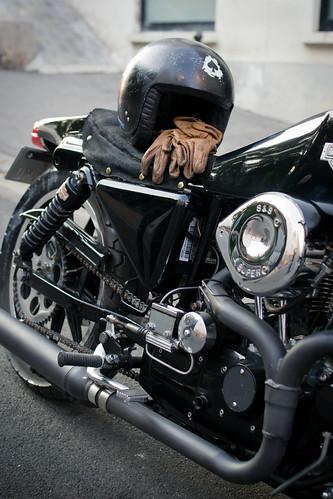 Harley Davidson XLCR 1000 by Megathon Charlie