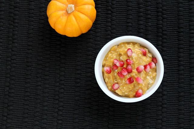 Pumpkin & Spice Overnight Oatmeal