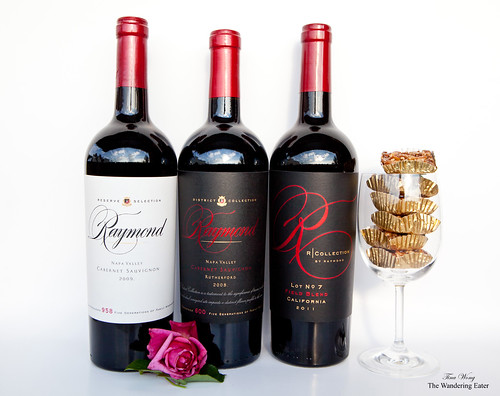 2010 R Collection Field Blend, 2009 Napa Reserve Selection Cabernet, 2008 Rutherford Cabernet Sauvignon