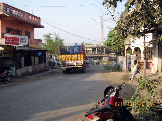 Railway Crossing at Kanhe
