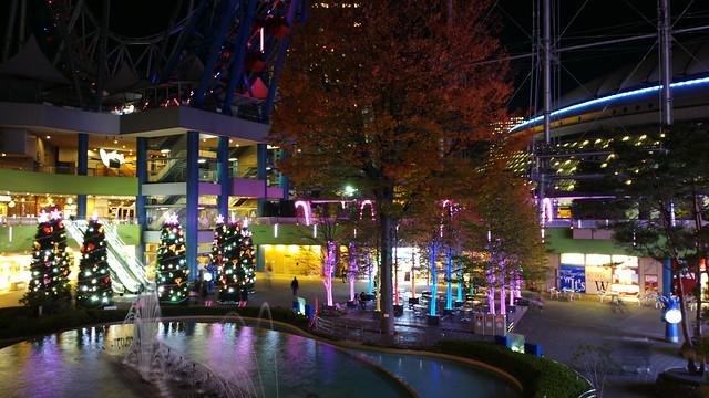 Tokyo dome city Illumination 13