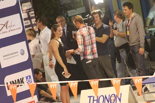 Championnat de France de Natation à Angers (novembre 2012)