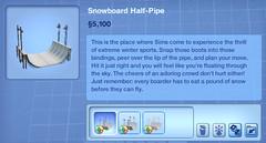 Snowboard Half Pipe
