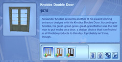 Knobbs Double Door