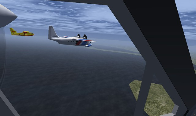 Water bomber and Grumman Albatross | In a FlightGear UK ...