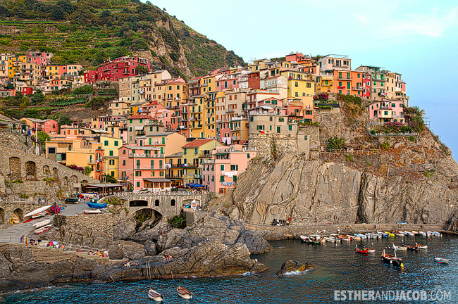 Hiking Cinque Terre Trails along the coast | What to Do in Cinque Terre Italy