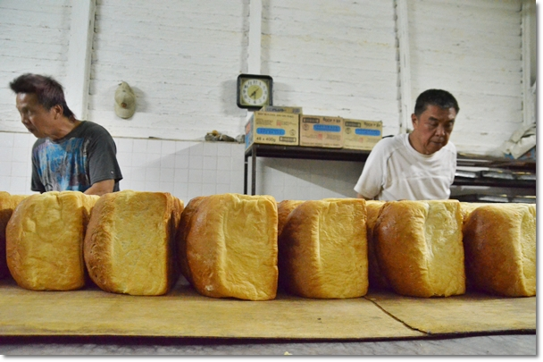 Dozens of Hainanese Breads