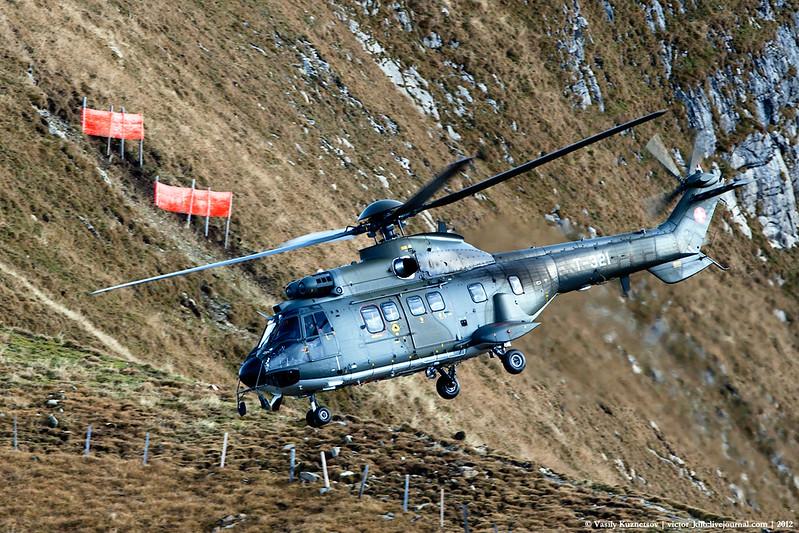 Swiss AF Aerospatiale AS 332 Super Puma