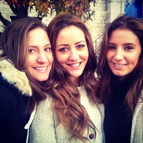 With my lovely gorgeous #girls @aierim and Marta! Love them ❤ #friends #london