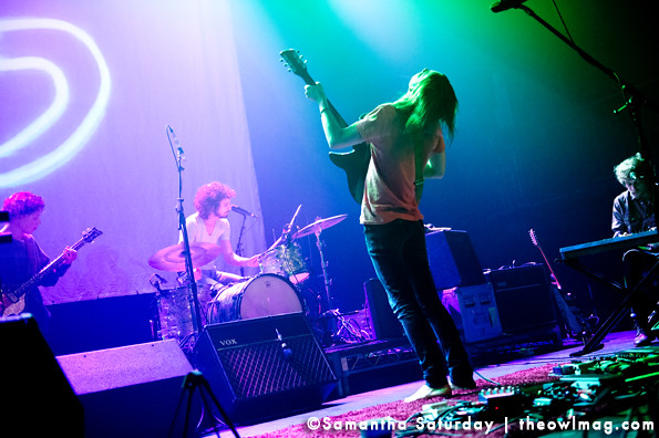 Tame Impala @ The Fonda Theatre,LA 11/17/2012