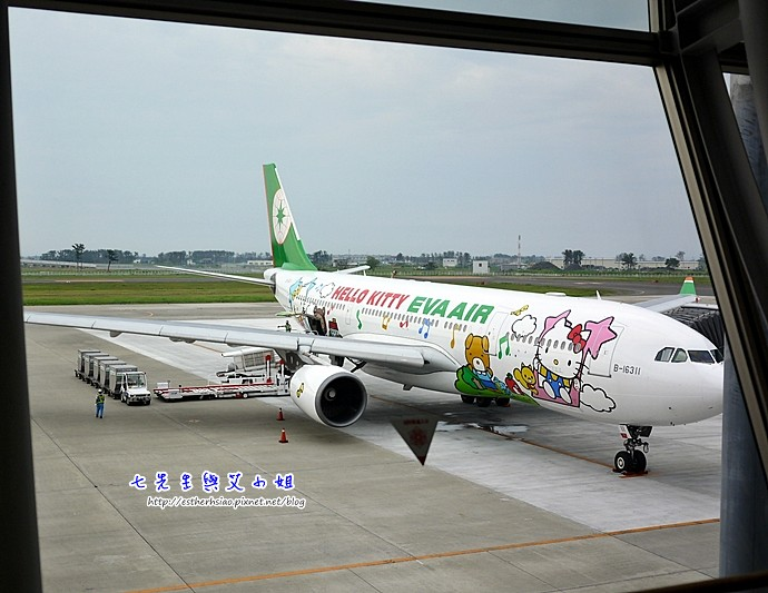 27 Hello Kitty專機