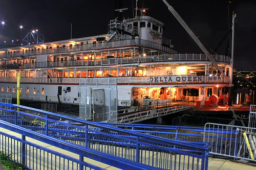 The Delta Queen at Night