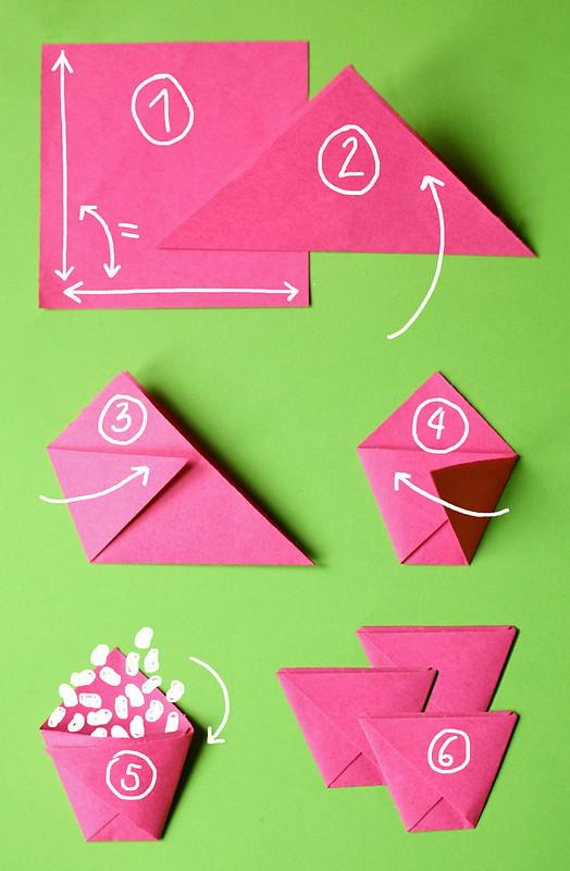 Как сделать из бумаги для семян