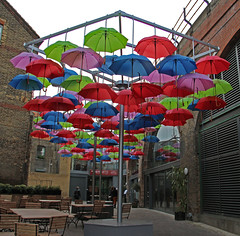 London Umbrella Art