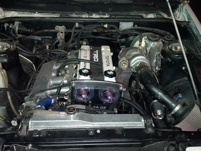 can you turbo a 16v 4AGE -