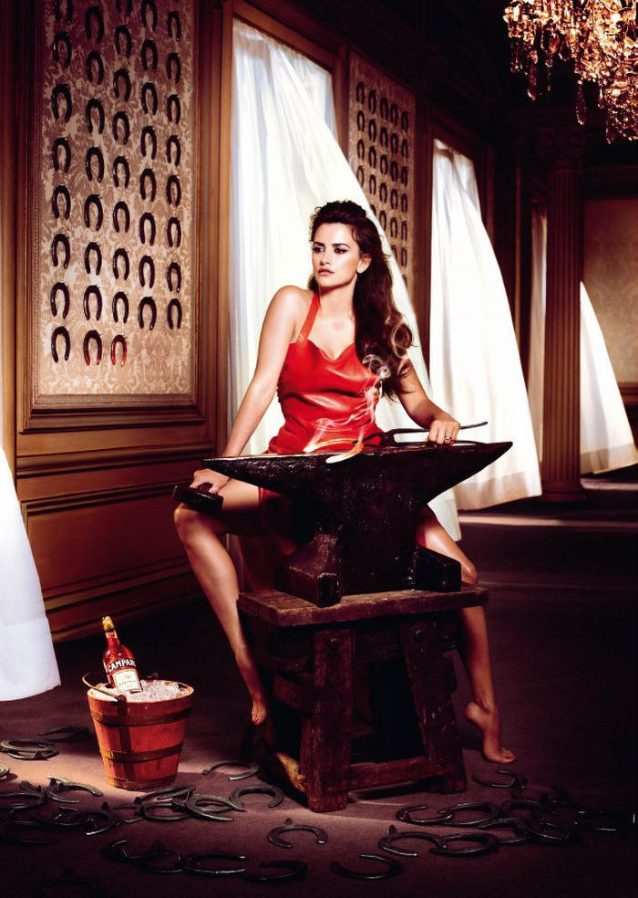 Penelope Cruz for the Campari Calendar 2013