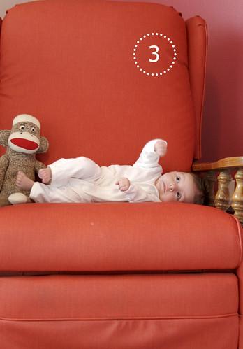 Alice Linda, 3 months