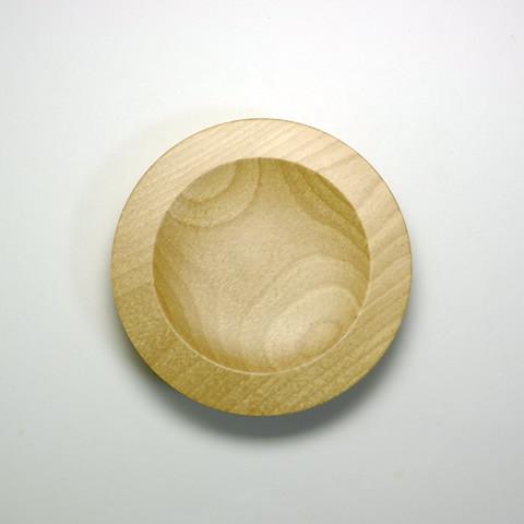 甲斐のぶお工房「木製デザート皿/タイプC」