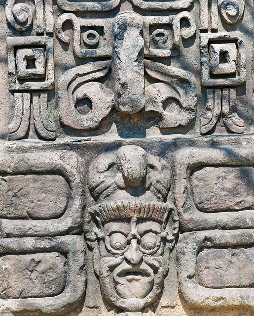Ancient aztec stone relief background flickr photo