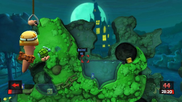 Worms Revolution - Screenshot 1