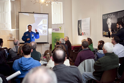 Paolo Nespoli ESA Science Week Lecture