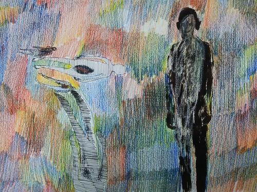El hombre que llego al arco iris by cardesin
