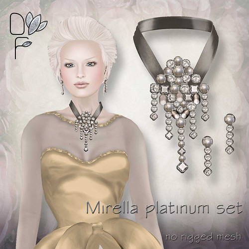 MIRELLA platinum set