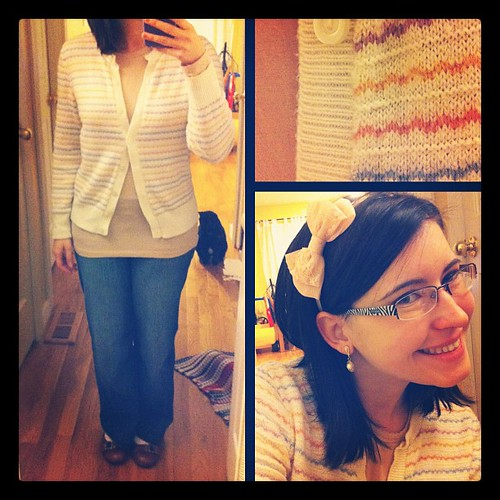 A comfy cardi is the best medicine for a cold, right?<span style=