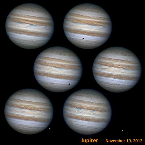 Jupiter & Europa - 11/19/12