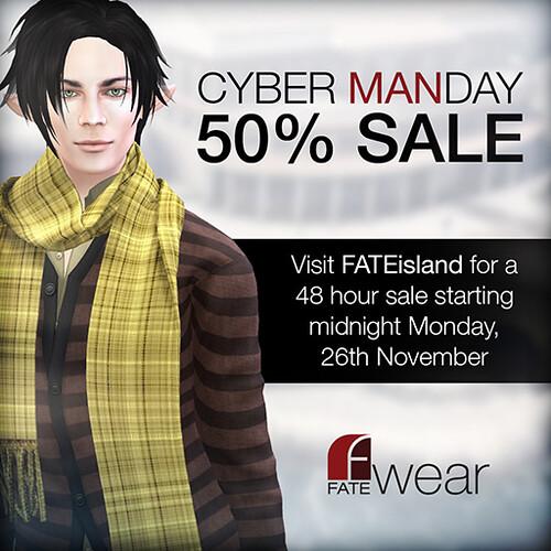 FATEwear Cyber Manday