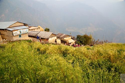 nepal tanting namasteguesthouse siklessunset