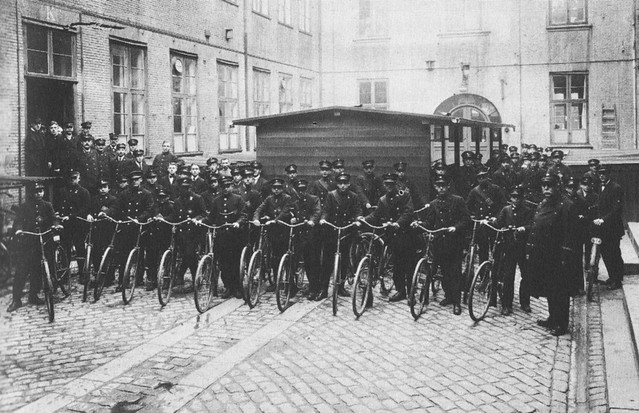 Copenhagen Bike Messengers 1917