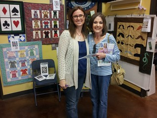 Jennifer & Sue at Honey Bee Quilt Store