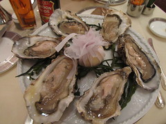 meal(1.0), molluscs(1.0), oyster(1.0), fish(1.0), seafood(1.0), food(1.0), dish(1.0), clams, oysters, mussels and scallops(1.0),