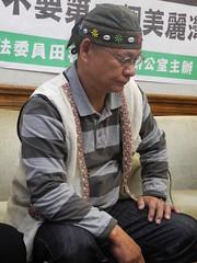 邵族文化發展協會理事長巴努‧佳巴暮暮。