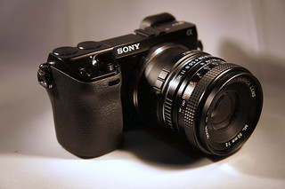 Sony NEX-7, Yashica ML 2/50 C/Y