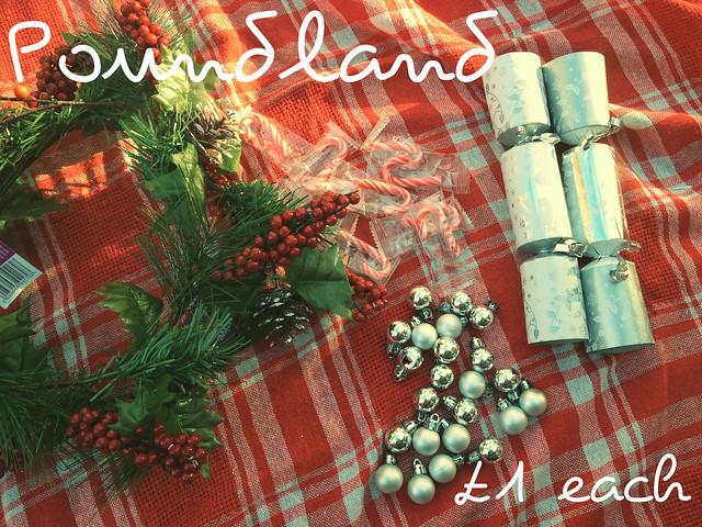 Christmas Decorations Poundland : Poundland christmas decorations explore athriftymrs