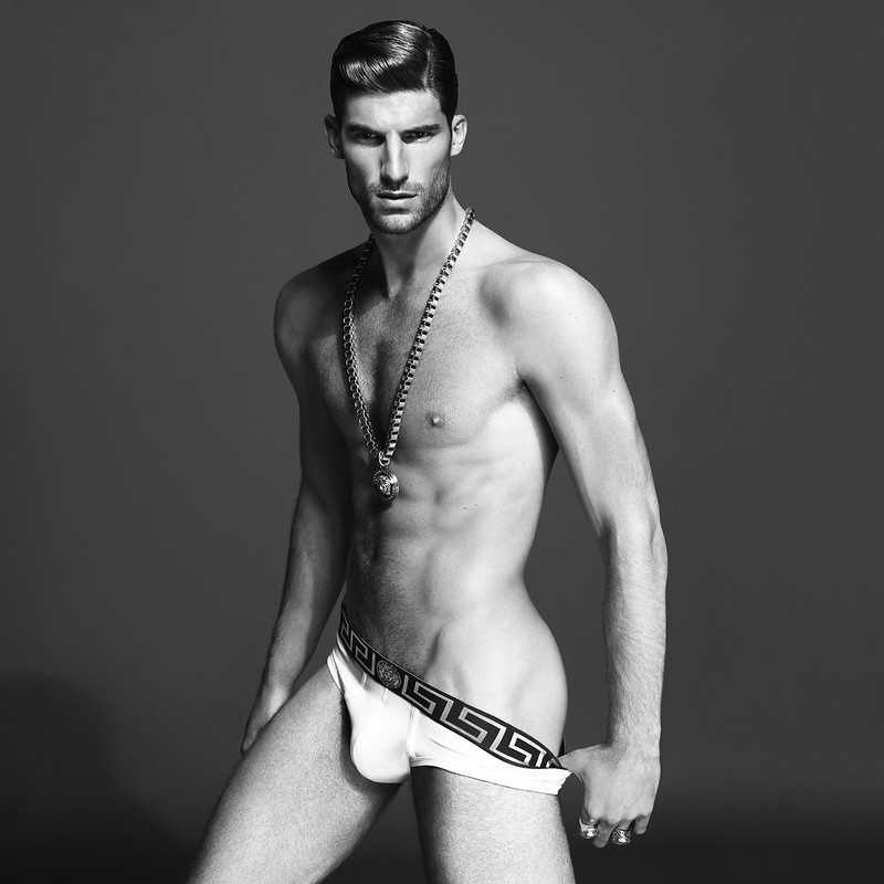 Ryan Barrett for Versace Underwear BW