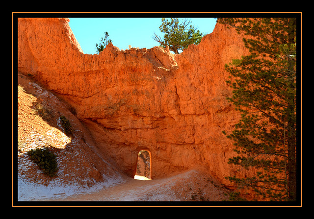 Bryce Canyon near the Queens Garden area